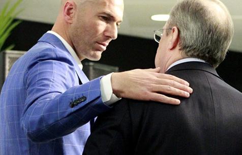 Зидан требует от Переса ряда трансферов, в случае ухода Роналду