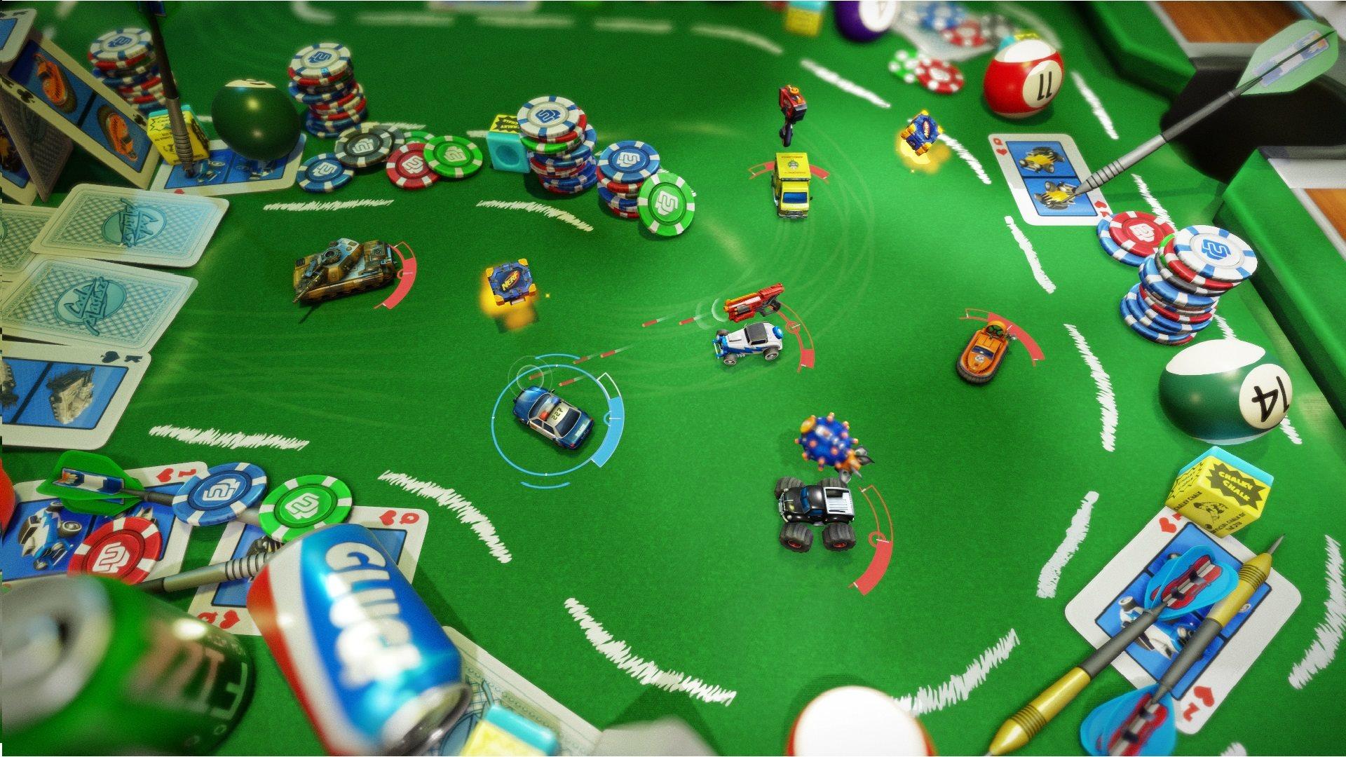 Скачать торрент игры Micro Machines World Series