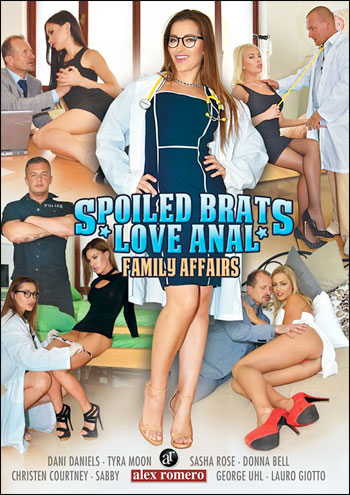 Семейные дела: Испорченные Девчонки Любят Анал / Family Affairs: Spoiled Brats Love Anal (2016) WEB-DL