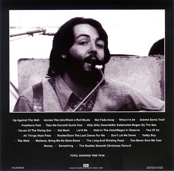 beatles, the artifacts - the definitive collection of beatles rarities : the longest road 1969, 1994  (japanese m