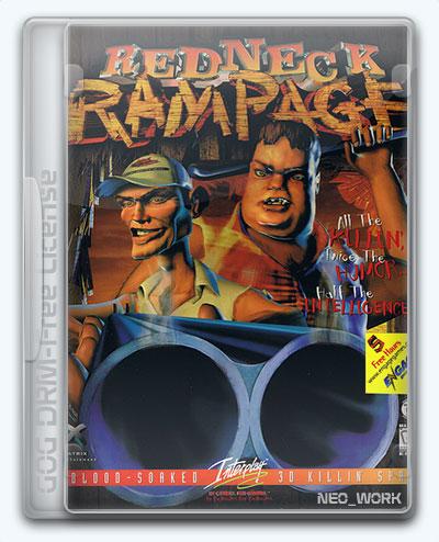 Redneck Rampage Collection (1997) [En] (1.01/1.0/1.01/dlc) License GOG