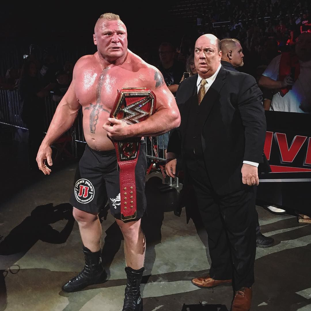 Брок Леснар против Самоа Джо в Детройте