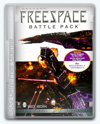 Descent: Freespace (1998) [En] (1.06/dlc) License GOG [Battle Pack]