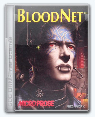BloodNet (1993) [En] (1.0) License GOG