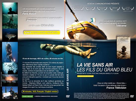 Жизнь без воздуха / La vie sans air: les fils de Grand Bleu (2010) TVRip [H.264] [FR]
