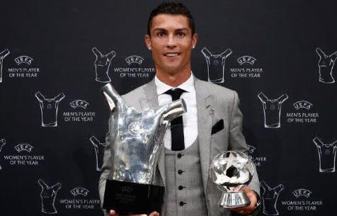 Роналду признан лучшим футболистом Европы