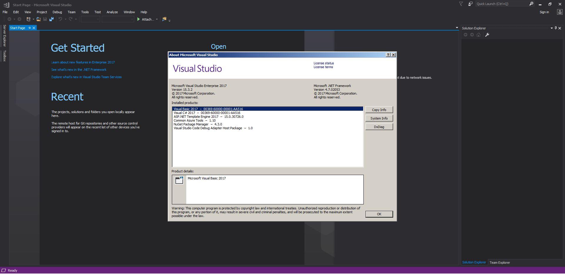 Microsoft Visual Studio 2017 Enterprise 15.3 (Offline Cache, Unofficial) (2017) Английский / Русский
