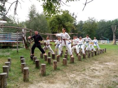Всеукраинский летний лагерь «GASSHUKU-2017»