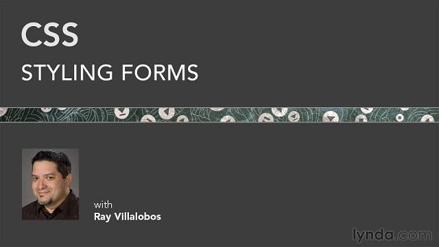Lynda.com   CSS: Styling Forms (2012) PCRec [H.264]