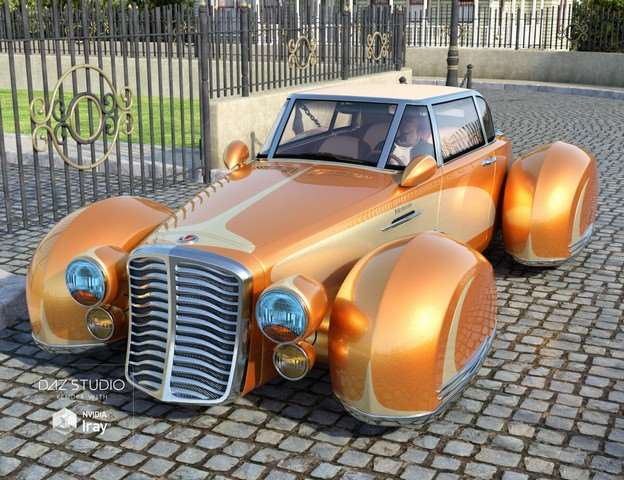 3D модели - Transport vehicles DAZ 3D Collection [DSF, EXE]