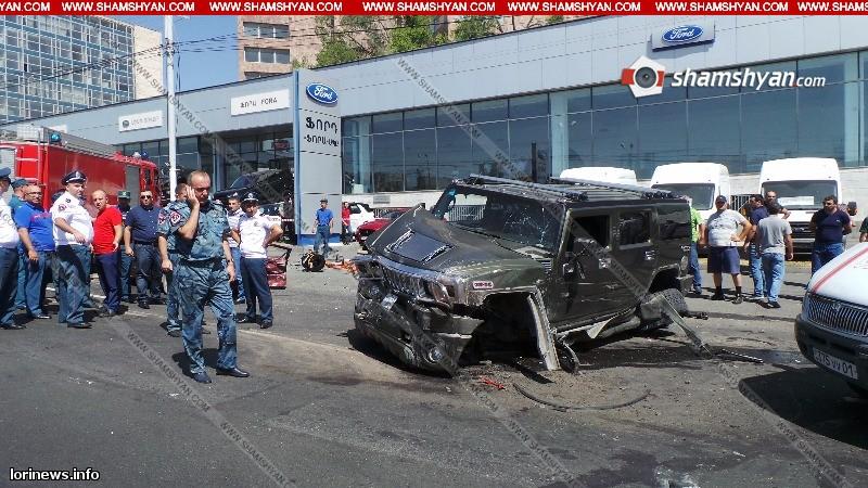 Խոշոր ու ողբերգական ավտովթար. բախվել են Nissan-ը, Hummer-ն ու Opel-ը, 11-ամյա աղջկա գլուխը մարմնից կտրվել է, կան վիրավորներ. ՖՈՏՈ