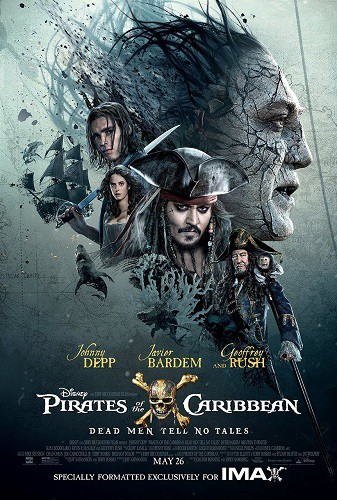 Pirates of the Caribbean Dead Men Tell No Tales 2017 1080p WEB-DL H264 AC3-EVO