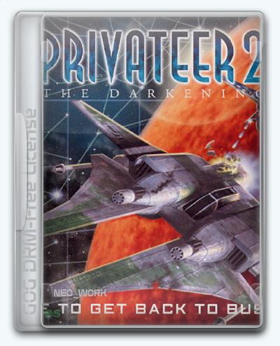 Privateer 2: The Darkening (1996) [En/Ge] (17.0e) License GOG