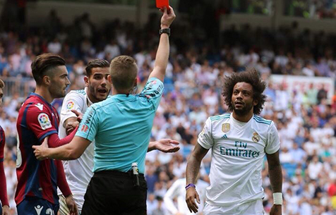 Дисквалификация Марсело сокращена до одного матча