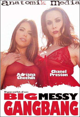 Большая грязная групповуха / Big Messy Gangbang (2017) WEB-DL 1080p |