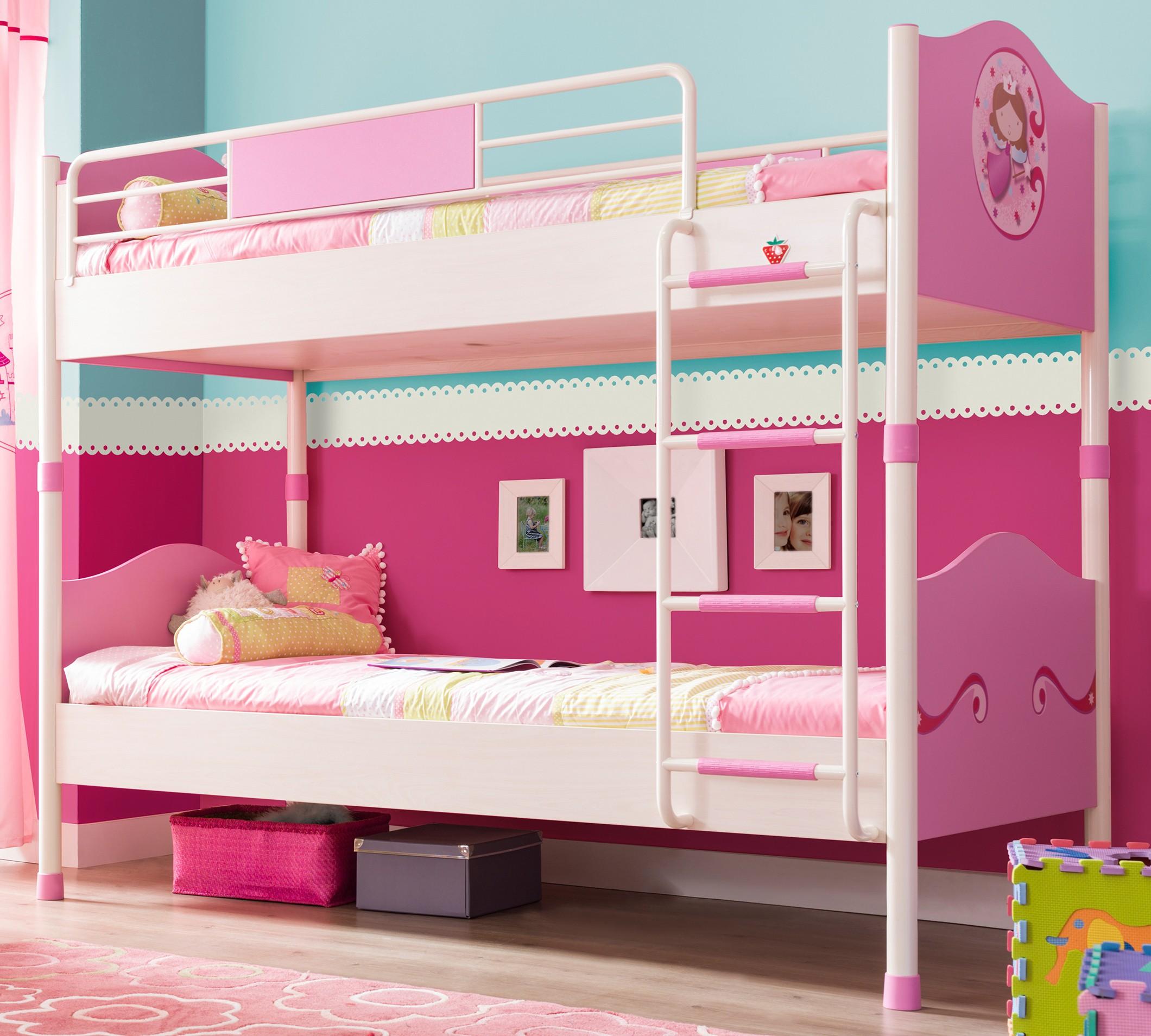 красивые двухъярусные кровати для сестер