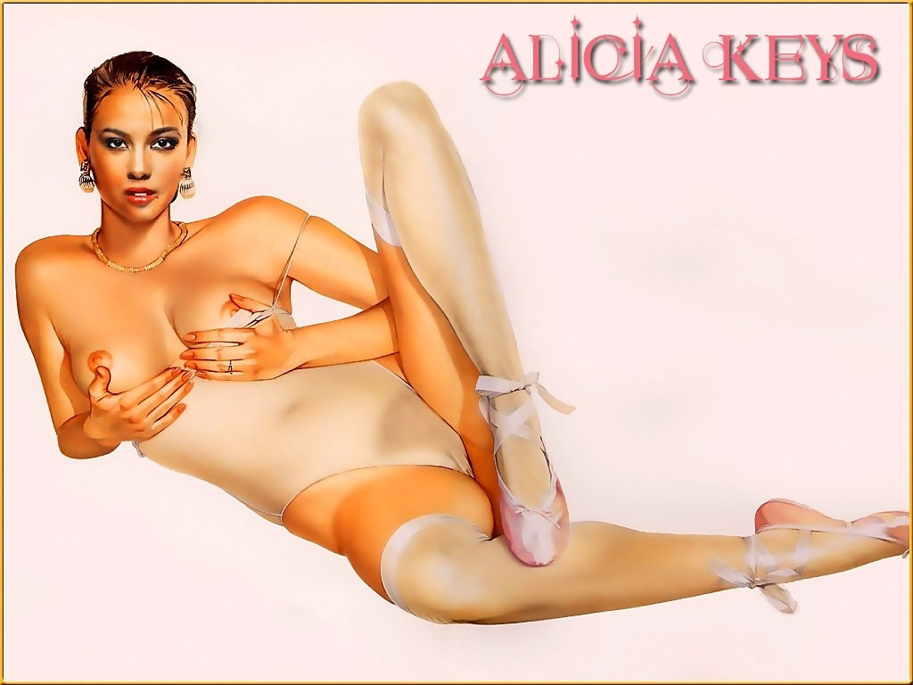 Alicia keys big ass — pic 12