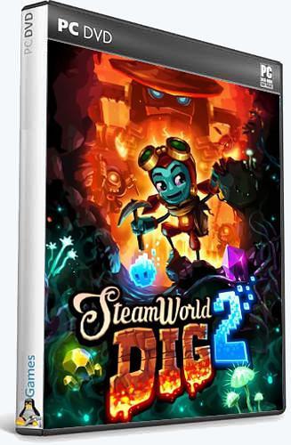 (Linux) SteamWorld Dig 2 (2017) [Ru/Multi] (1.1) License GOG
