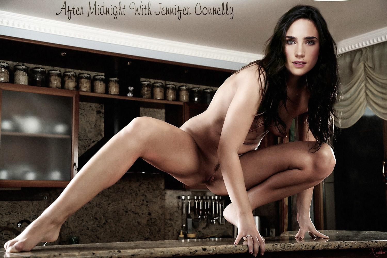 Горячий секс с Дженнифер Коннелли