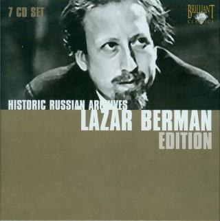 (Classical, forepiano) Historic Russian Archives - Lazar Berman (Лазарь Берман) Edition - 2007, APE (image + .cue), lossless