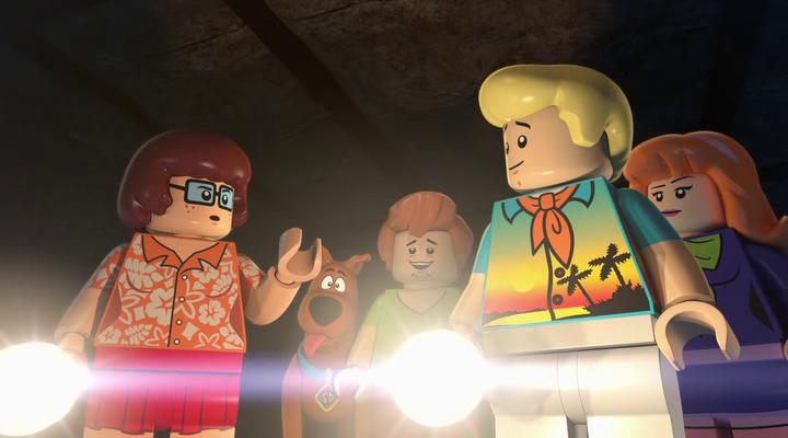 Лего Скуби-Ду: Улётный пляж / Lego Scooby-Doo! Blowout Beach Bash (2017) BDRip
