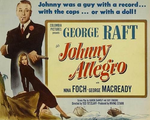 Джонни Аллегро / Johnny Allegro (Тед Тецлафф / Ted Tetzlaff) [1949, США, фильм-нуар, драма, криминал, DVDRip] VO + Sub Rus + Original Eng