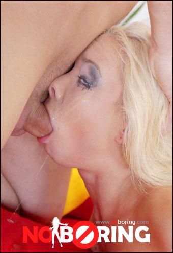 Dulsineya - Skinny blonde handles a big fat cock easily (2017) SiteRip  