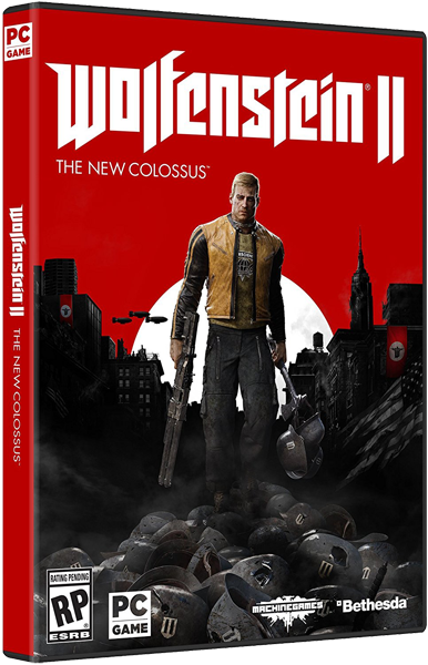 Wolfenstein II: The New Colossus v.1.0 (2017) [Rus/Eng] RePack by xatab