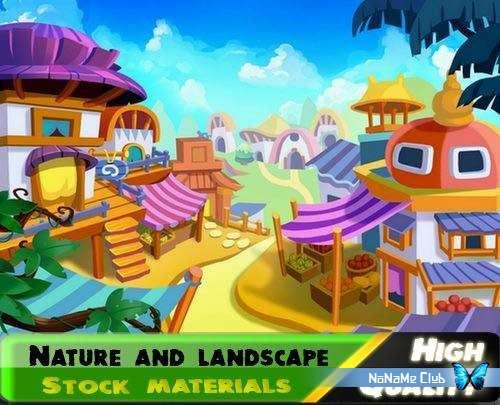 Фоны - Fotolia - Nature and landscape [JPG]