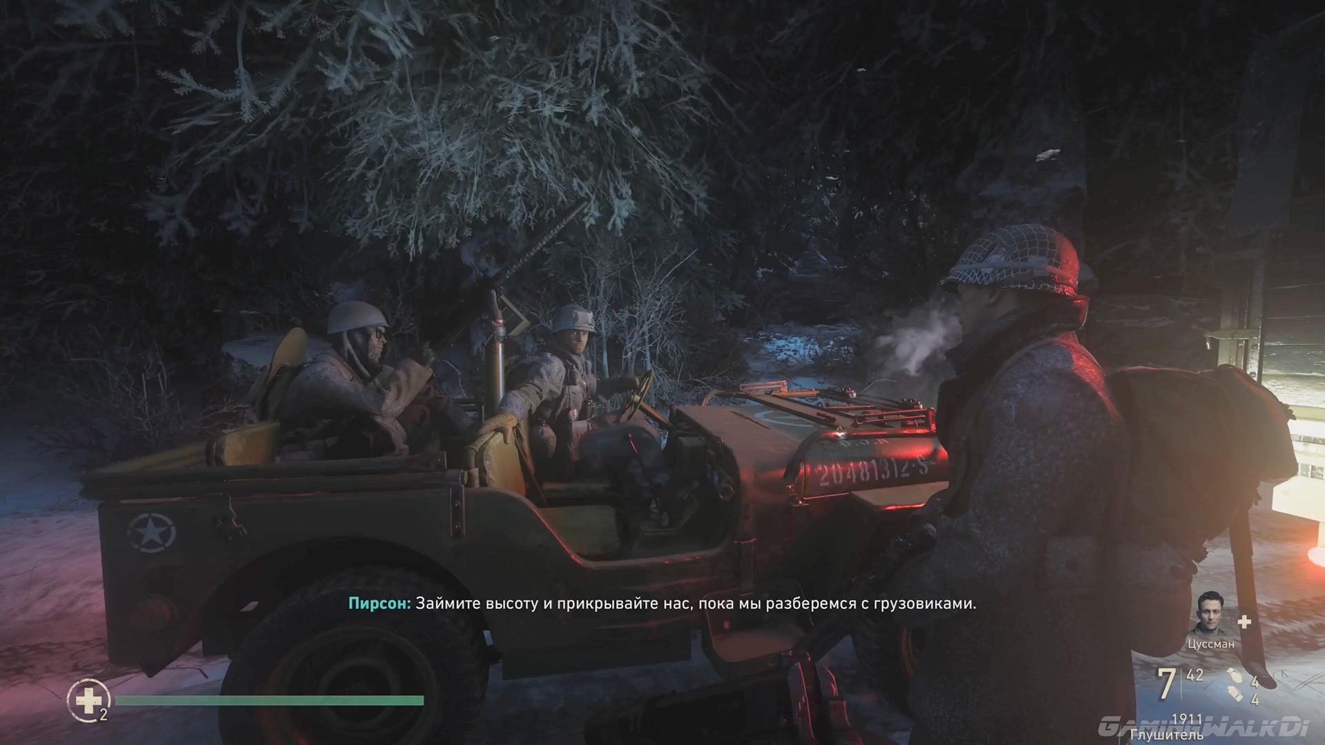 Call of Duty: WWII (2017/WEBRip) 1080p, 60 fps, D, Игрофильм