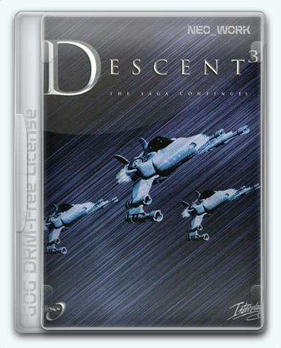 Descent 3 (2000) [En] (1.4/dlc) License GOG