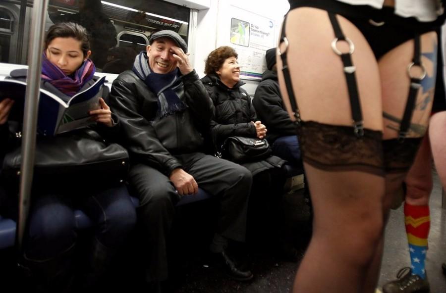 Флеш-моб в метро