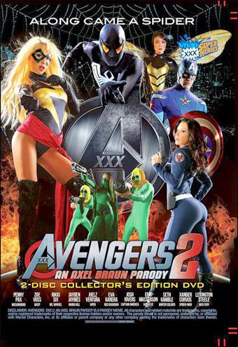 Vivid - Мстители 2: Пародия Акселя Брауна / Avengers 2: An Axel Braun Parody (2015) DVDRip
