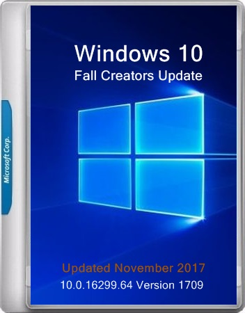 Microsoft Windows Version 1709 (Updated Nov. 2017) (x86-x64) (2017) Eng