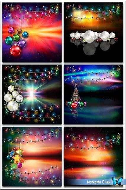 Фоны - Christmas backgrounds. Part 5 [JPG, PNG]