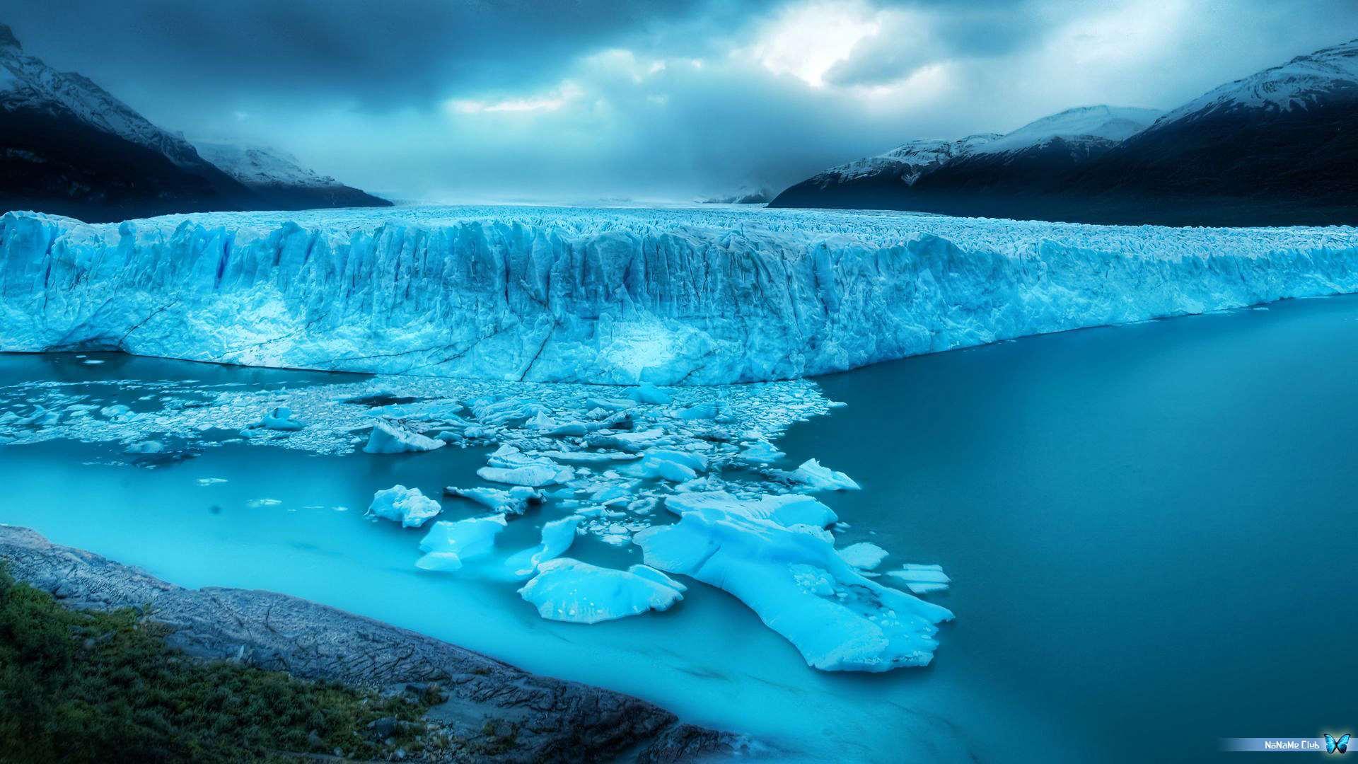 Обои рабочего стола айсберги 4