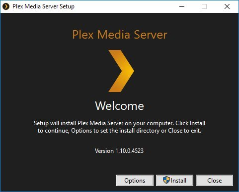 Plex Media Server 1.10.0.4523 (2017) PC