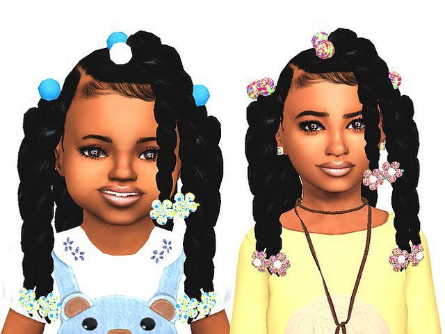 Детские прически - Волосы для Sims 4 - Каталог файлов Симс