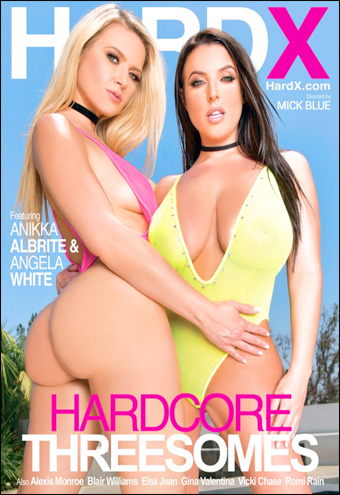 Hard X - Хардкорная тройка / Hardcore Threesomes (2017) DVDRip |