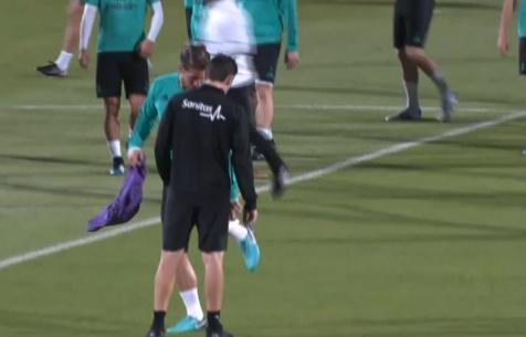 Ramos mashg'ulotlarda o'zini yomon xis etdi