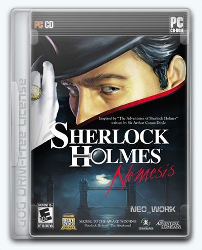 Sherlock Holmes: Nemesis / Шерлок Холмс против Арсена Люпена (2010) [Ru/Multi] (1.0) License GOG [Remastered]