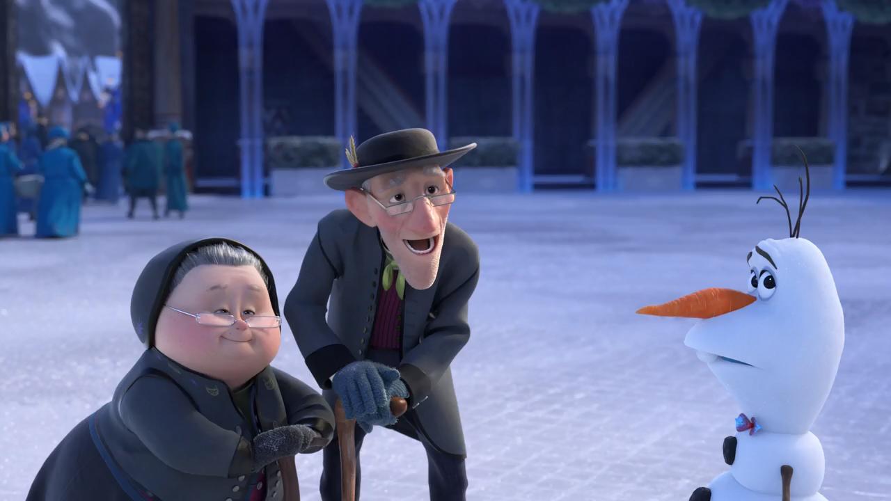 Олаф и холодное приключение / Olaf's Frozen Adventure (2017/WEB-DL) 720p, D
