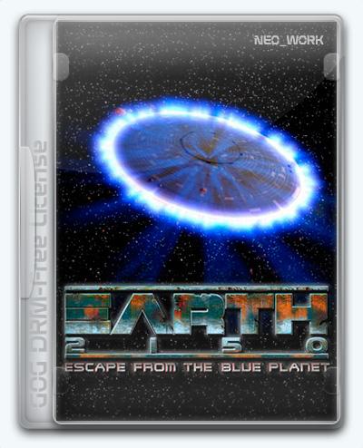 Earth 2150: Escape from the Blue Planet / Земля 2150: Война миров (2000) [Ru/Multi] (2.8.7.1) License GOG