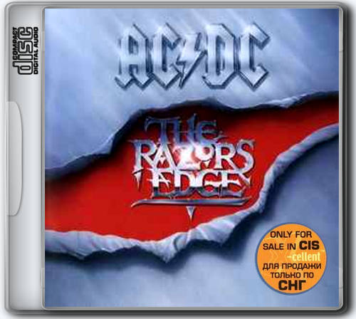 AC/DC - The Razors Edge (1990) X-Cellent only for sale in CIS, 2003 [FLAC|Lossless|image + .cue] <Hard Rock>