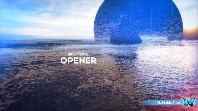 Проекты - VideoHive - Epic Media Opener - 20287403 [AEP]