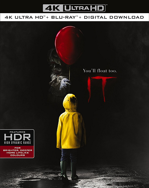 Оно / It (2017) BDRip 1080p | D, A, L | Лицензия
