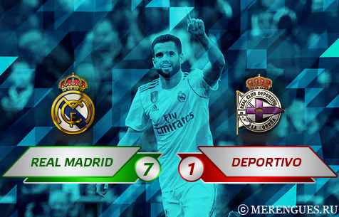Real Madrid C.F. - RC Deportivo La Coruna 7:1