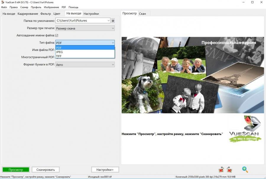 VueScan Pro 9.6.06 (2018) PC