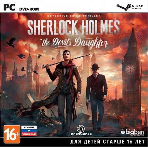 Sherlock Holmes: The Devil's Daughter (2016) PC | Repack от R.G. Catalyst