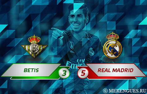 Real Betis Balompie - Real Madrid C.F. 3:5